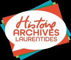 Histoire et Archives Laurentides Logo